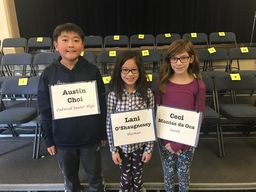 Harman Fourth Grader Wins Spelling Bee